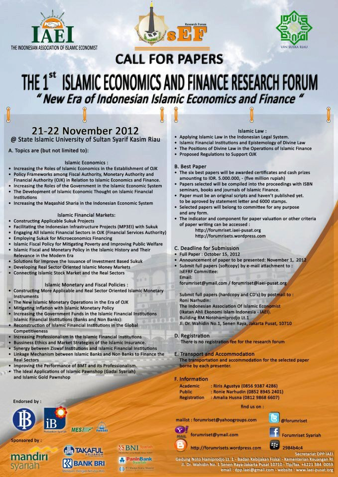 call for paper finance